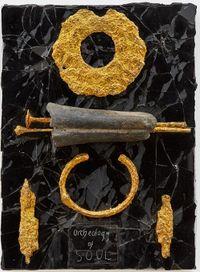 Archaeology by Derek Jarman contemporary artwork painting