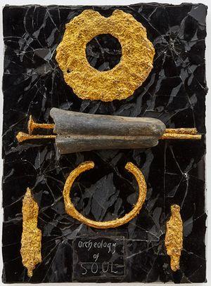 Archaeology by Derek Jarman contemporary artwork