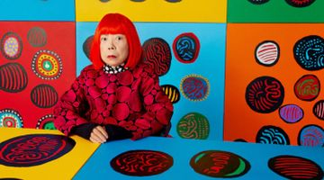 Contemporary art exhibition, Yayoi Kusama, I WANT YOUR TEARS TO FLOW WITH THE WORDS I WROTE at David Zwirner, 20th Street, New York