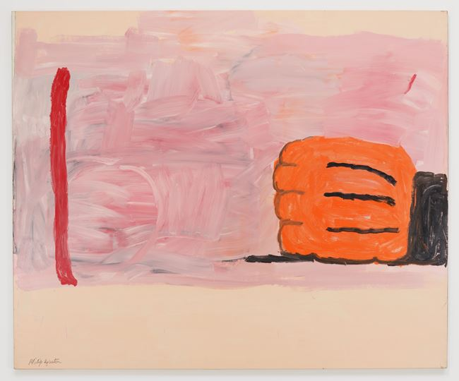 Hand and Stick by Philip Guston contemporary artwork