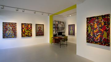 Contemporary art exhibition, Alia Ali, FLUX at Galerie—Peter—Sillem, Frankfurt