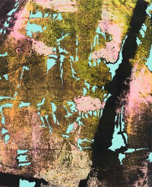 Cherry blossom by Sojung Lee contemporary artwork painting, works on paper, drawing