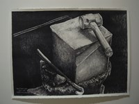 Still Life (Left Wing project) by Alfredo & Isabel Aquilizan contemporary artwork drawing
