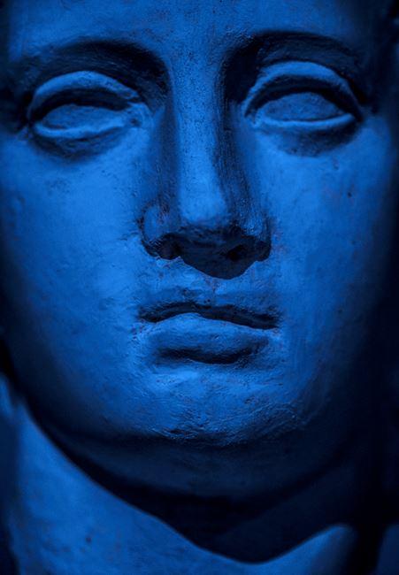 Blue Chalk by Sofia Borges contemporary artwork
