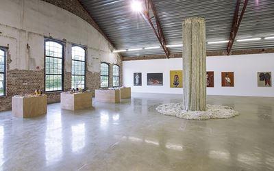 Exhibition view: Group Exhibition,Please Return To Busan Post,Vestfossen Kunstlaboratorium, Norway (7 May–2 October 2016). Courtesy CHOI&LAGER Gallery.