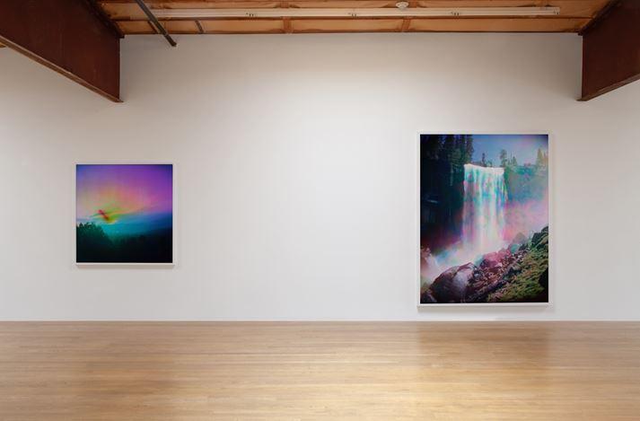 Exhibition view: Florian Maier-Aichen, Limits of Control,Blum & Poe, Los Angeles (1 June– 6 July 2019). © Florian Maier-Aichen. Courtesy the artist and Blum & Poe, Los Angeles/New York/Tokyo.