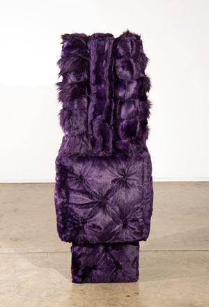 Purple Garden by Kathy Temin contemporary artwork sculpture