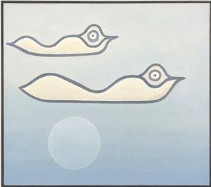Sky Pond by Anthony Miler contemporary artwork