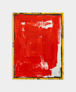 F (red) by David Ostrowski contemporary artwork