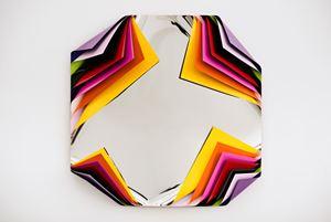 Metal Box (Fez) by Jim Lambie contemporary artwork