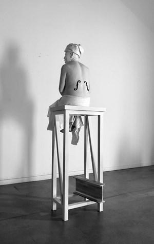 Father-Violon by Bernardí Roig contemporary artwork