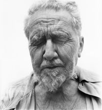 Ezra Pound, Poet, Rutherford, New Jersey, at the home of William Carlos Williams, June 30, 1958 by Richard Avedon contemporary artwork photography