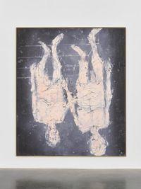 Wir nehmen ein wenig Rosa by Georg Baselitz contemporary artwork painting