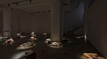Contemporary art exhibition, Mimmo Paladino, I Dormienti at Cardi Gallery, Milan