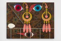 Vanitas #3  (Semper) by Lari Pittman contemporary artwork painting, mixed media