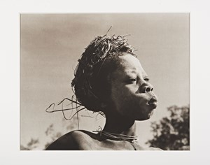A boy from the Surma Tribe, Southern Ethiopia by Don McCullin contemporary artwork