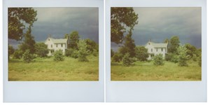 Upstate Polaroids, Lone House by Peter Liversidge contemporary artwork photography