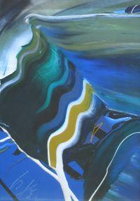Untitled J-234 by Kazuo Shiraga contemporary artwork painting