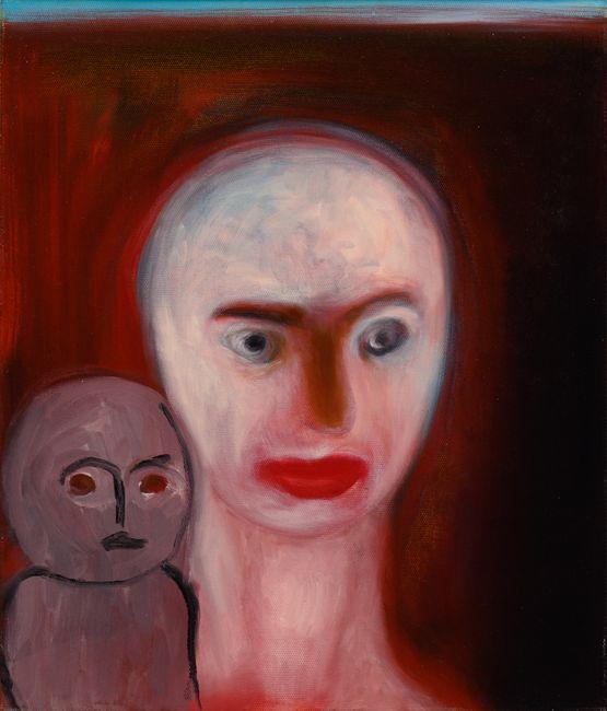 o.t. by Miriam Cahn contemporary artwork