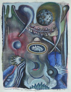 Unklare Entstehung (Totalreservate) by Hartmut Neumann contemporary artwork