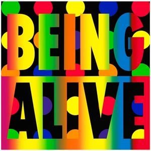 Being Alive by Deborah Kass contemporary artwork
