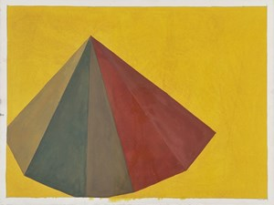 PYRAMID by Sol LeWitt contemporary artwork