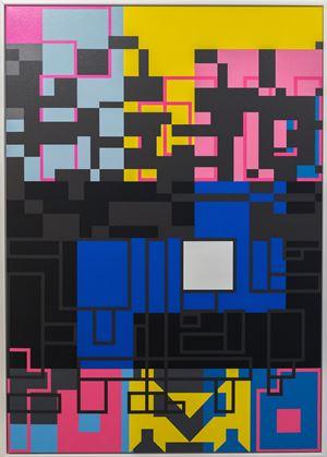 Kia Aupikinga te Poukapa by Kelcy Taratoa contemporary artwork