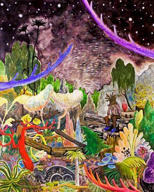 Green Master 42 by Yuichi Hirako contemporary artwork