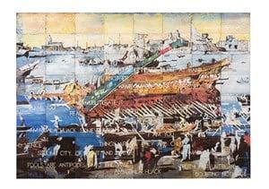 Amygdala Hijack by Imants Tillers contemporary artwork