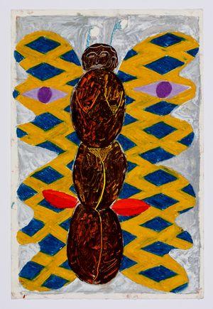 Untitled (moth) #6 by Brendan Huntley contemporary artwork