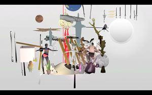 Entropy Wrangler (Atik) by Ian Cheng contemporary artwork