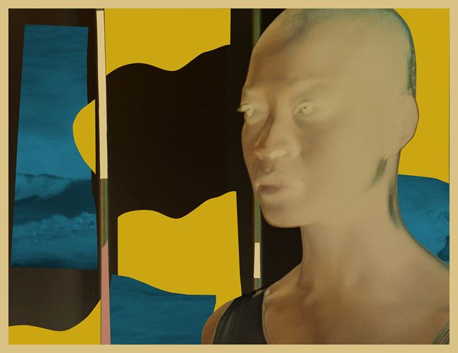 CYBORG #1 OCTAVIA / DUNE (RADIOACTIVE SERIES) by Isaac Julien contemporary artwork