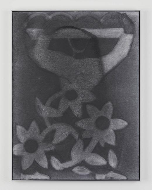 Dress (Large Flowers) by Silke Otto-Knapp contemporary artwork