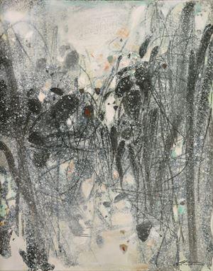 Evocations B by Chu Teh-Chun contemporary artwork