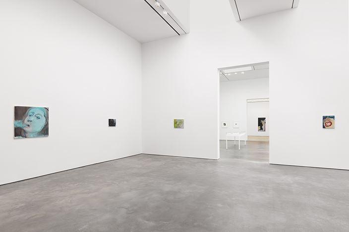 Exhibition view: Marlene Dumas, Myths & Mortals, David Zwirner, 20th Street, New York (28 April–30 June 2018). Courtesy the artist and David Zwirner.