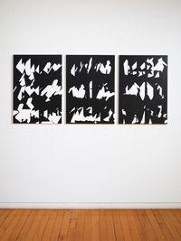 Time slice I, II, III by Jeena Shin contemporary artwork painting