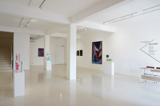Exhibition view: Group Exhibition, Conversation on Lack and Excess, Gajah Gallery, Yogyakarta (9 August–2 September 2018). Courtesy Gajah Gallery.