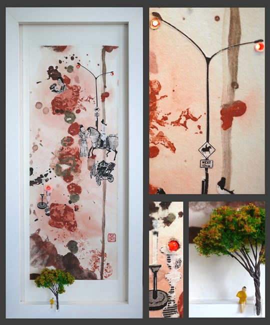 Flourish of Human World 2 by Wong Chung-Yu contemporary artwork