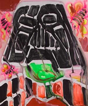 Untitled by Katherine Bernhardt contemporary artwork