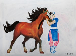In Love by Feng Mengbo contemporary artwork