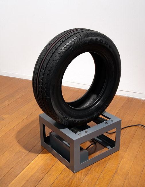 Endless Loop (Firestone) by Marley Dawson contemporary artwork