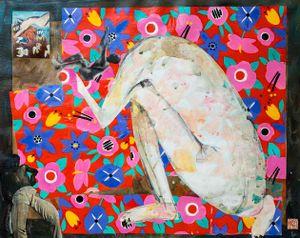 Waiting for Angels by Fu-sheng Ku contemporary artwork