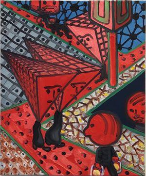 K-Platz by Marcus Weber contemporary artwork