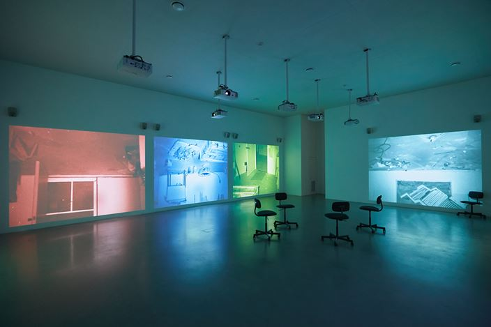 Exhibition view: Observations, West Bund x Centre Pompidou, Shanghai (8 November 2019–30 May 2020). Courtesy West Bund x Centre Pompidou.