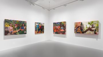 Contemporary art exhibition, Gisela McDaniel, Making WAY/FARING Well at Pilar Corrias, London