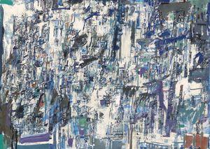 Sans titre by Maria Helena Vieira da Silva contemporary artwork