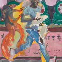 Michael Armitage at the Royal Academy of Arts