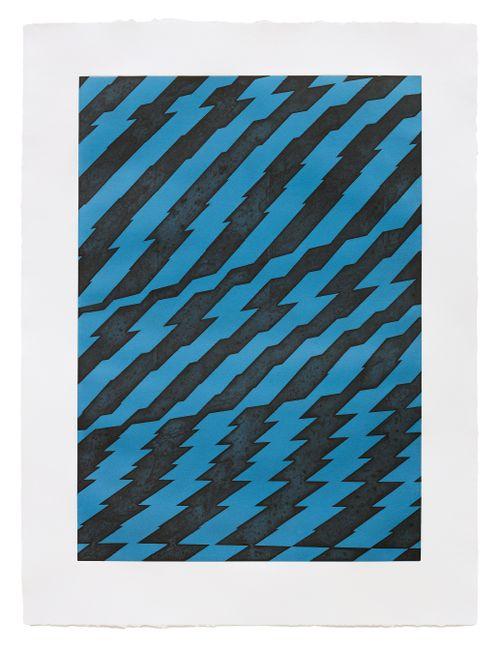 Blackfriars Blue by Richard Deacon contemporary artwork