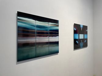 Exhibition view: Christopher Button, The Labyrinth,Blue Lotus Gallery, Hong Kong (9 September–10 October 2021).Courtesy Blue Lotus Gallery.