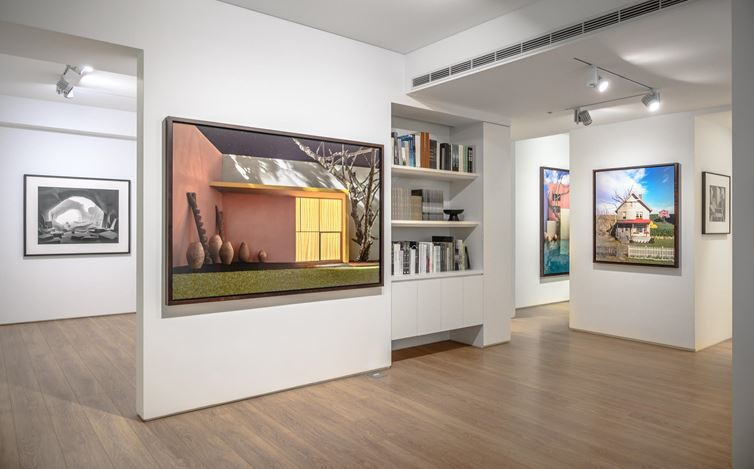 Exhibition view: James Casebere, Built Images, Sean Kelly, Taipei (18 May—31 July 2019).Courtesy Sean Kelly. Photo:Hank Tsai.
